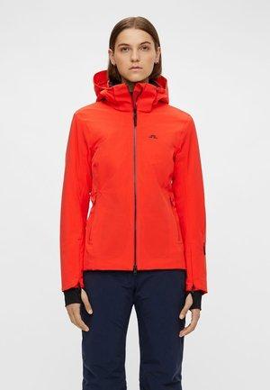 Ski jas - racing red