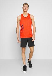 adidas Performance - SINGLET - Camiseta de deporte - solred - 1