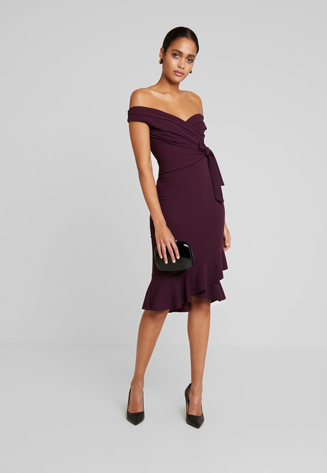 CLELIAH - Cocktail dress / Party dress - merlot