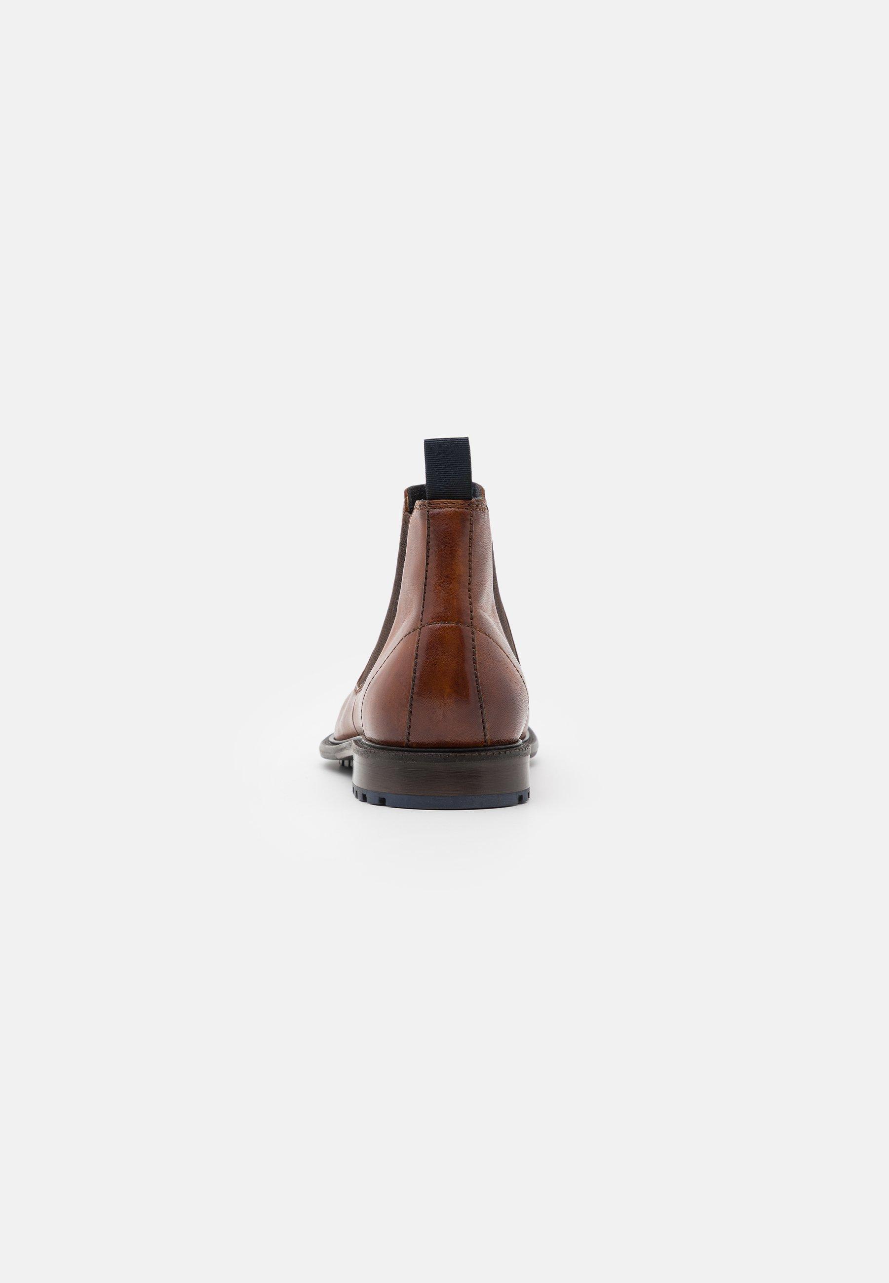 BONIFACIO Korte laarzen cognac
