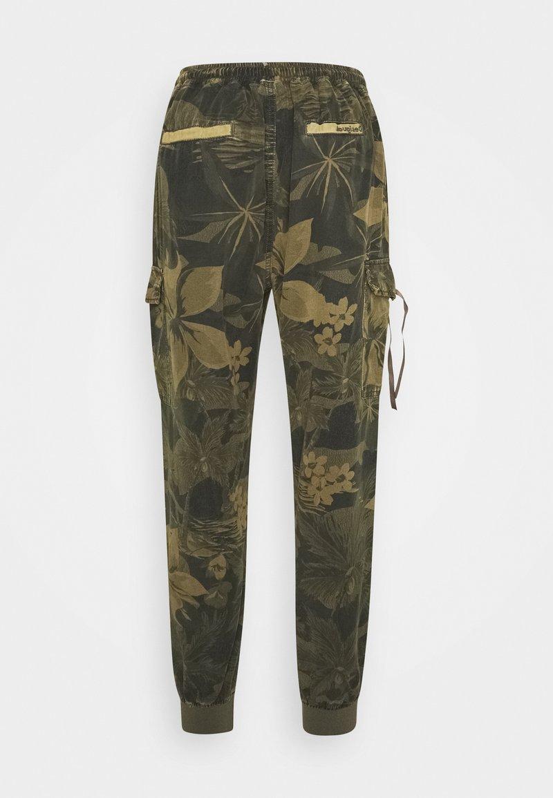 Desigual Pant Malala Pantalones Verde Militar Verde Oliva Zalando Es