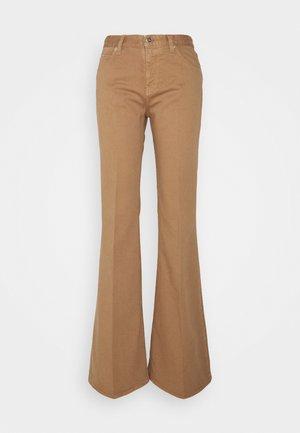 SAN FRAN - Flared Jeans - cinnamon brown
