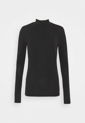 OBJCAROLINE MATHILDE - Langarmshirt - black