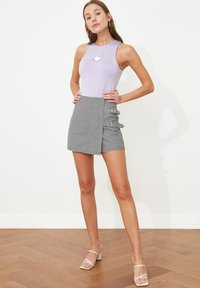Trendyol - PARENT - Wrap skirt - black - 3