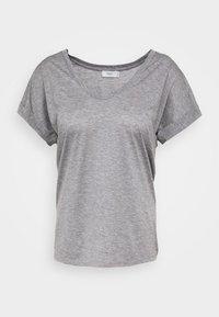 WOMENS - Basic T-shirt - grey heather melange