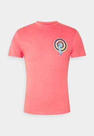 SANTA CRUZ ROSKOPP DOT UNISEX - T-shirts med print - washed red