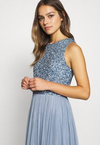 Lace & Beads Petite - PICASSO DRESS - Iltapuku - blue - 4