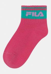 Fila - JUNIOR GIRLS QUARTER 6 PACK - Socks - white/lollipop - 1