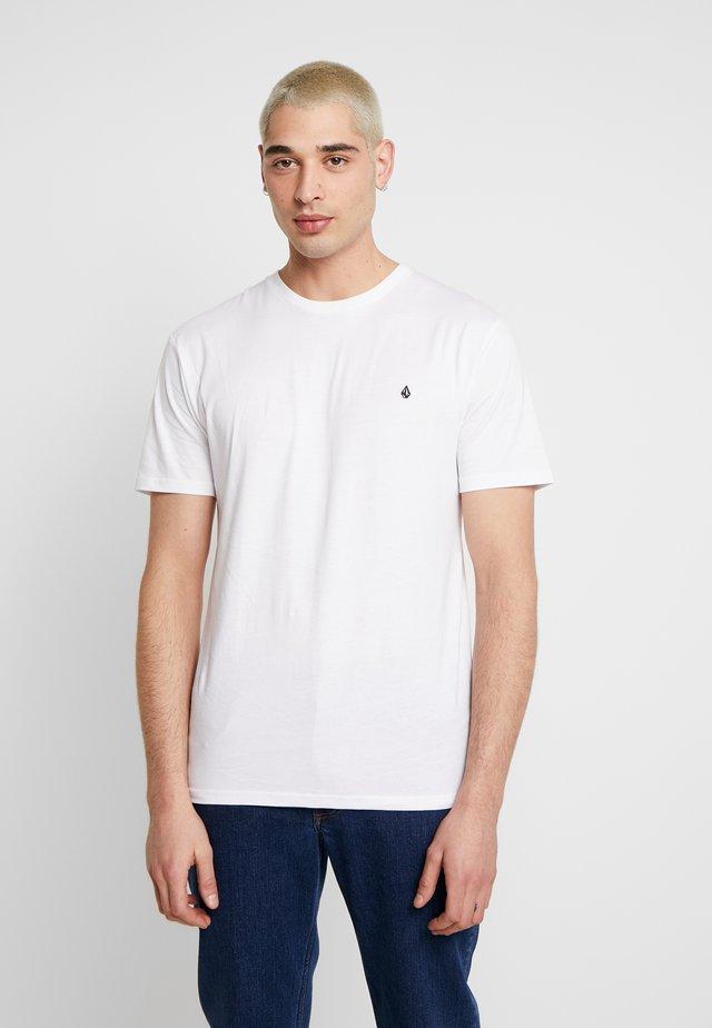 STONE BLANKS  - T-shirt basique - white