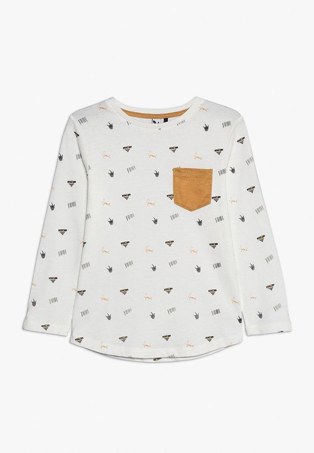 TEE - Pitkähihainen paita - broken white