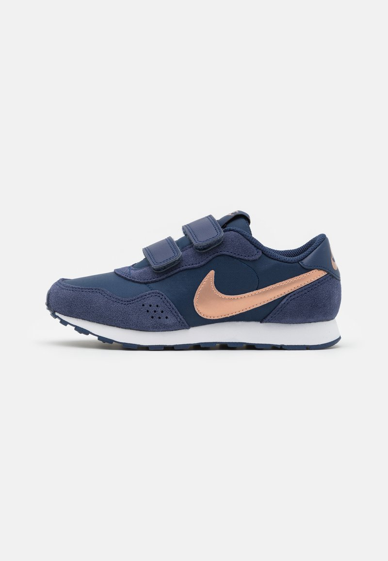 Nike Sportswear - VALIANT UNISEX - Baskets basses - midnight navy/metallic red bronze/white