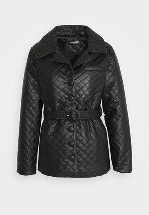 FINLO - Krátký kabát - black
