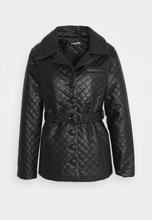 FINLO - Manteau court - black