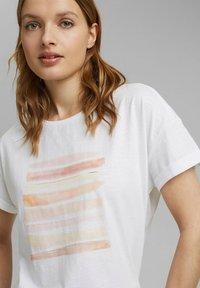 Esprit - Print T-shirt - white colorway - 3