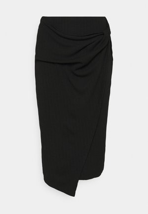 BEKE SKIRT - Pencil skirt - schwarz