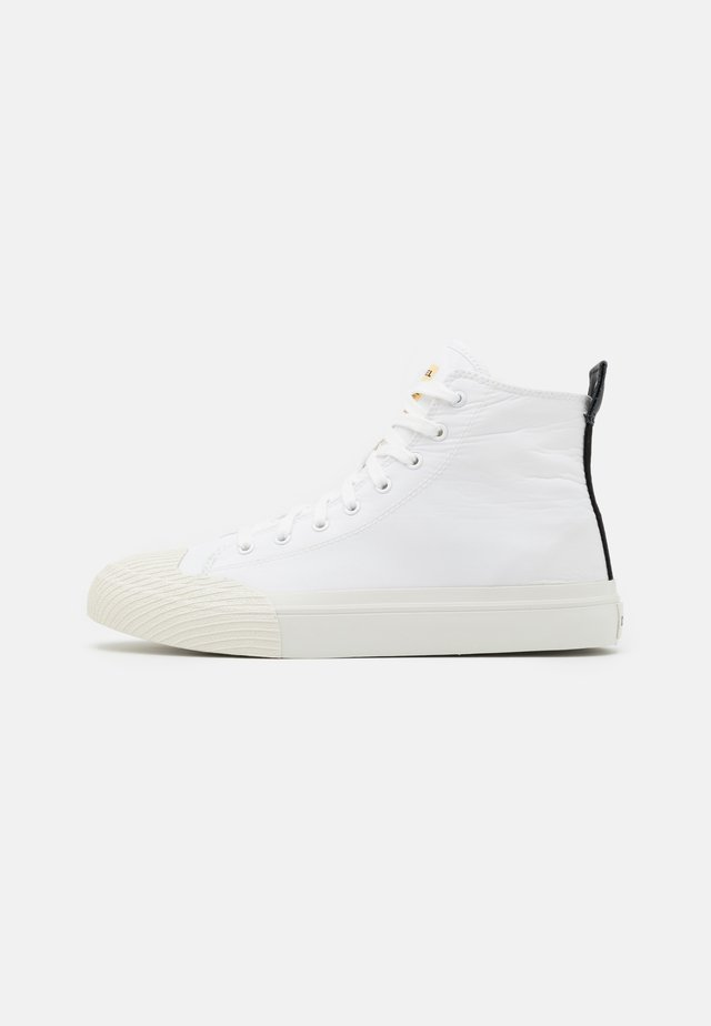 ASTICO S-ASTICO MCF SNEAKERS - Korkeavartiset tennarit - white