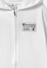 Champion - HOODED FULL ZIP UNISEX - Zip-up hoodie - white - 2