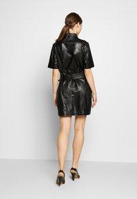 STUDIO ID - JENNIFER DRESS - Robe chemise - black - 2
