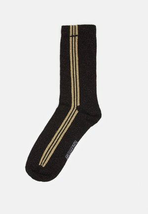GLITTER STRIPE FASHION SOCK  - Socks - black