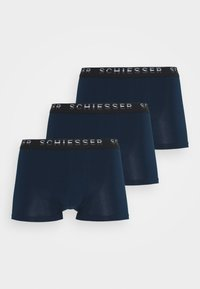 Schiesser - PIMA HIP 3 PACK  - Pants - navy - 2