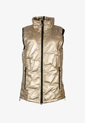 Waistcoat - gold-coloured