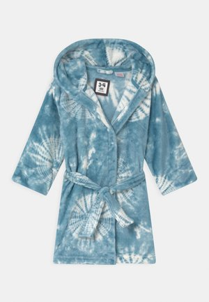 BOYS HOODED LONG SLEEVE GOWN - Dressing gown - teal storm