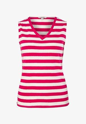 Top - white big stripes