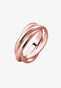 rosegold-coloured