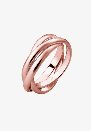 TRIO BASIC - Prsten - rosegold-coloured
