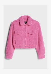 Bershka - Fleece jacket - pink - 4