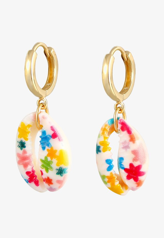 KAURIMUSCHEL  - Earrings - gold