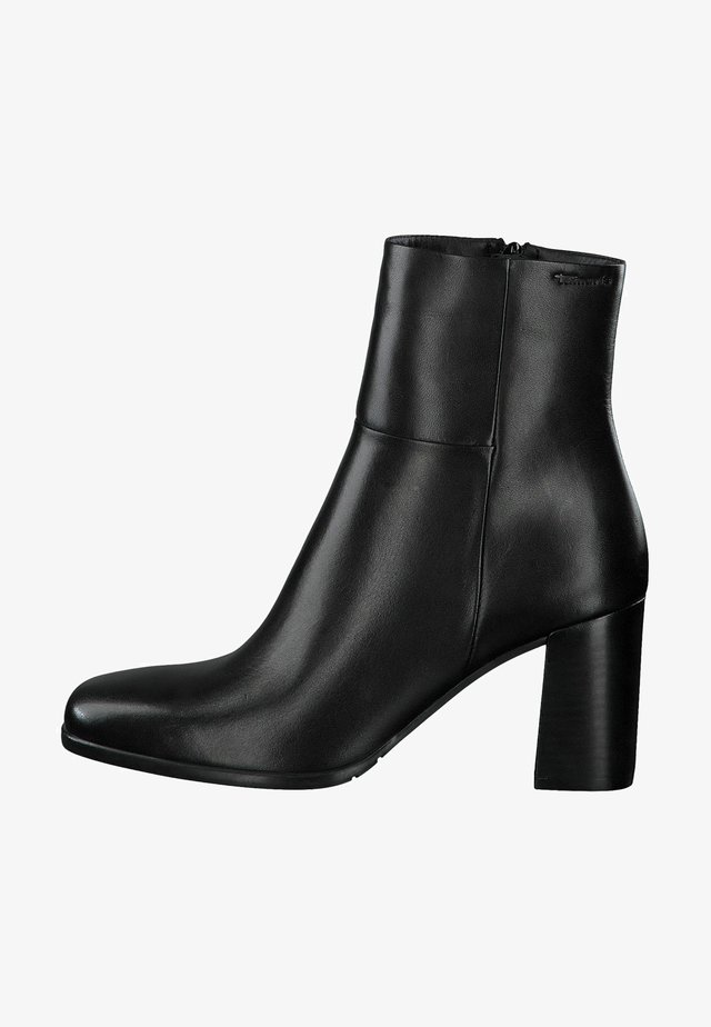 STIEFELETTE - Ankle boots - black leather