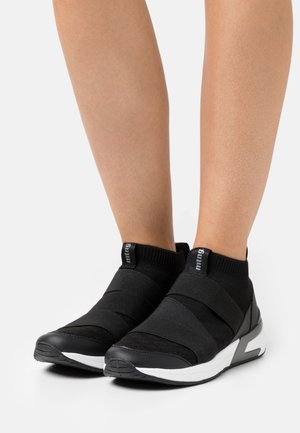 ALEXIA - Sneakers alte - black