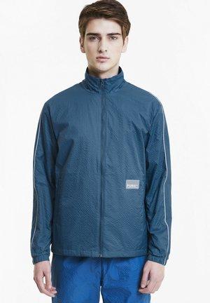 Training jacket - digi-blue