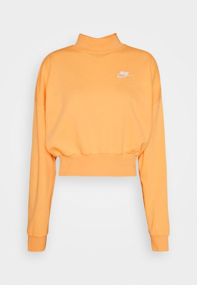 MOCK - Sweatshirt - orange/chalk