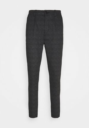 CLUB TEXTURE PANTS - Pantalones - prince of wales