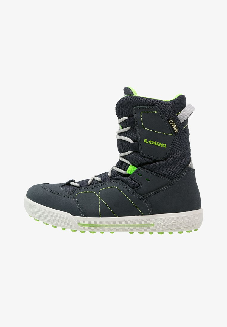 Lowa - RAIK GTX UNISEX - Winter boots - navy/limone