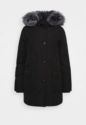 LINDSAY  - Down coat - black