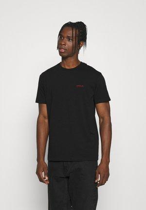 TEE POPINCOURT AMOUR UNISEX - T-shirts - black