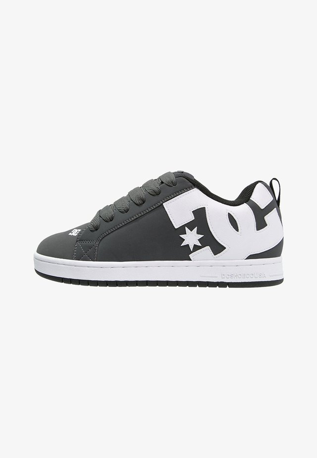 COURT GRAFFIK - Skateboardové boty - grey/white