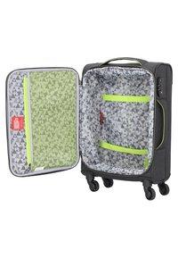 Hardware - AIRSTREAM  - Wheeled suitcase - antracite/lemon - 4