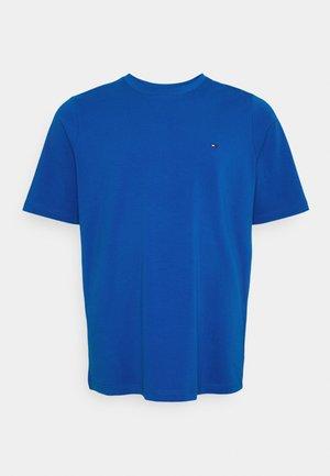 STRETCH SLIM FIT TEE - Jednoduché triko - blue