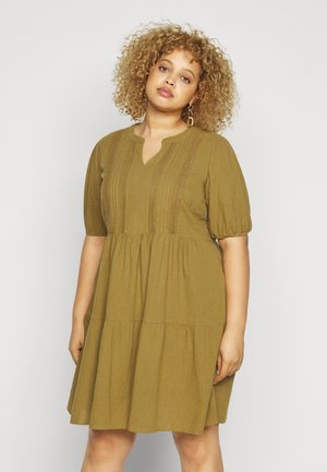 JRSIGNE ABOVE KNEE DRESS - Day dress - plantation