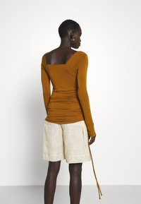 Rejina Pyo - MIRA TOP - Long sleeved top - brown - 3