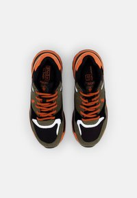 Polo Ralph Lauren - CORDURA/TRCKSTR PONY - Sneakersy niskie - black/militaire - 3