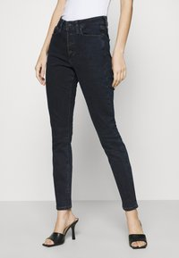 Tommy Jeans - SYLVIA  - Skinny džíny - lemon dark blue stretch - 0