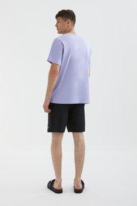 PULL&BEAR - STAY UNITED - Print T-shirt - light pink - 2