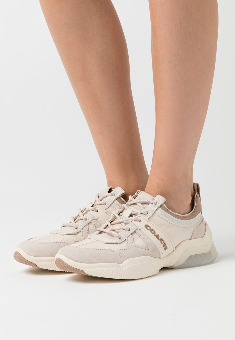 Coach - RUNNER - Trainers - chalk/taupe