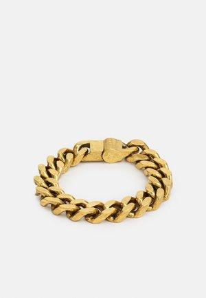 CURB UNISEX - Armband - antique gold-coloured
