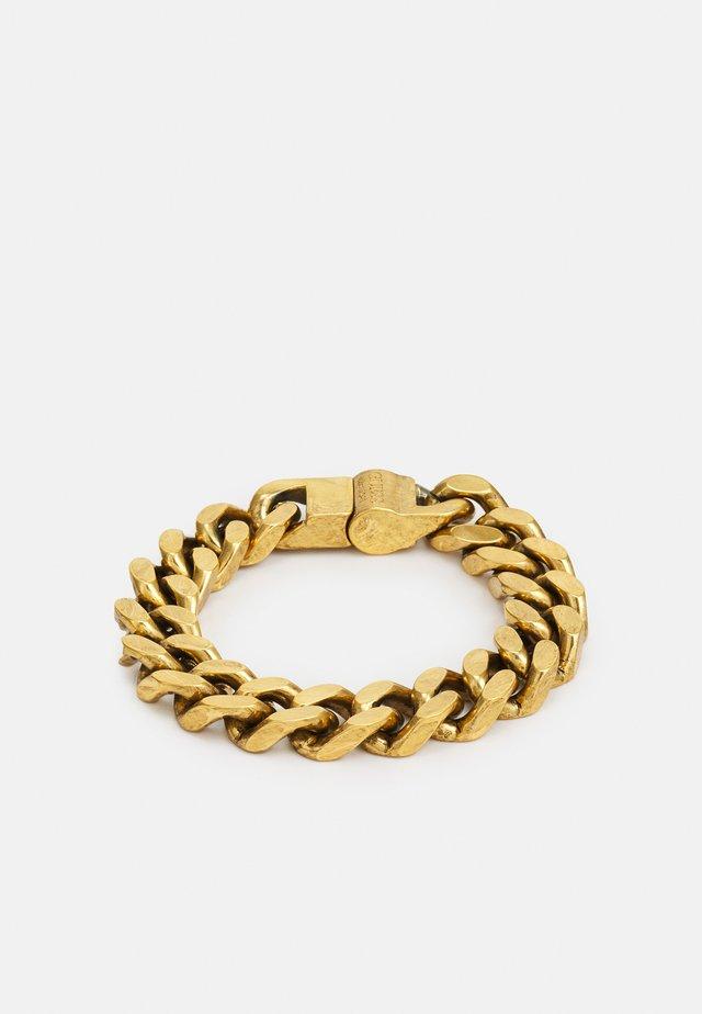 CURB UNISEX - Náramek - antique gold-coloured
